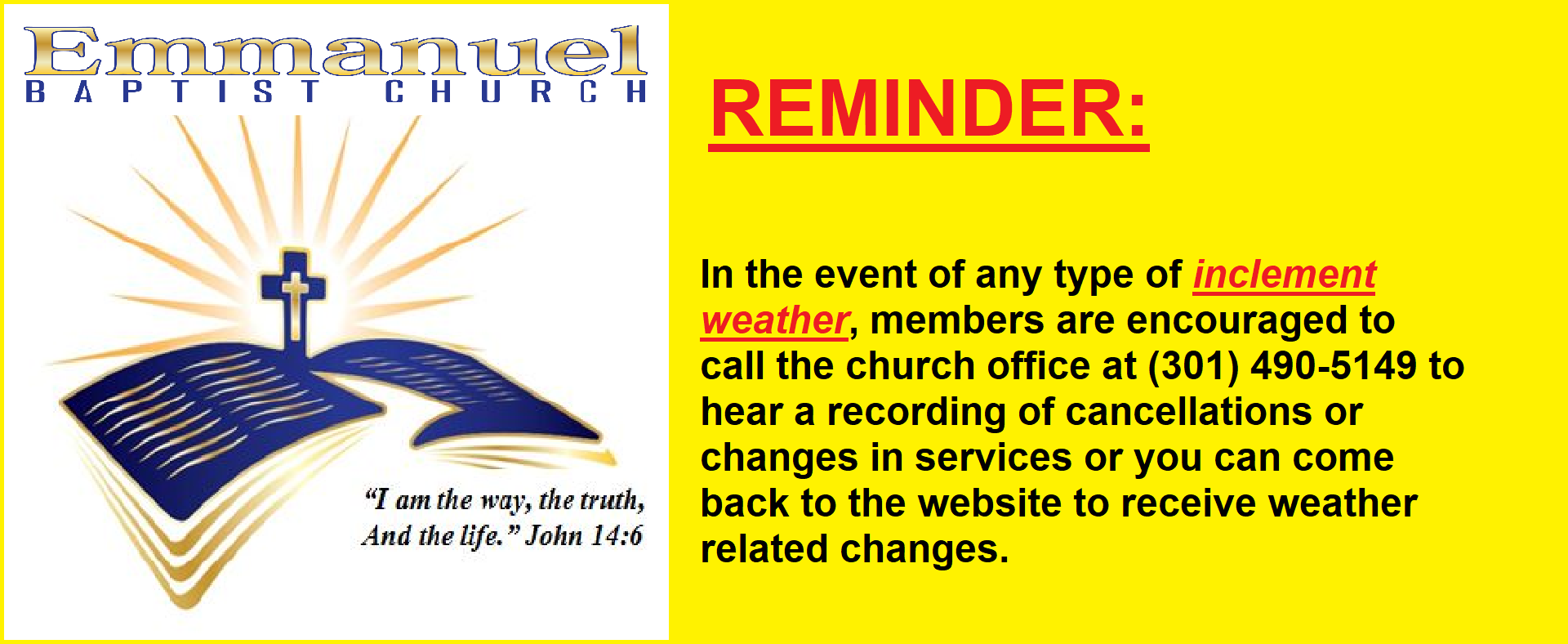 EBC Reminder Message